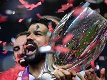 أتلتيكو مدريد يفوز على ريال مدريد ويتوج بالسوبر الأوروبي