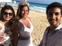 حفل زفاف منة حسين فهمي بالساحل الشمالي