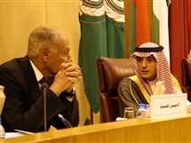 اجتماع وزراء الخارجية العرب بالجامعة العربية بالقاهرة