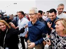 شركة أيفون الأمريكية تطلق هواتفها وساعاتها الذكية الجديدة في مؤتمر بولاية كاليفورنيا