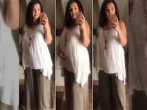 نشرت كندة علوش مجموعة صورة جديدة لها وهى حامل