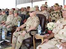 رئيس الأركان يشهد إحدى المراحل الرئيسية للمشروع التكتيكي بجنود «نصر- 14»