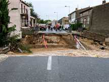 أمطار غزيرة وعواصف أدت إلى فياضانات وانهيارات أرضية في عدد من المدن جنوب غربي فرنسا