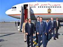 وصول السيسي للعاصمة الروسية موسكو ضمن زيارته لجمهورية روسيا الاتحادية