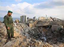 غارات إسرائيلية على منطقة رفح في قطاع غزة