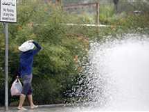 أمطار غزيرة في العاصمة القطرية الدوحة