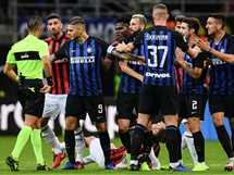 مباراة إنترميلان وإيه سي ميلان في الدوري الإيطالي