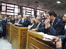 جلسة محاكمة المتهم بقتل طفليه بالدقهلية