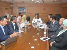 اجتماع وزيرة الهجرة  - صورة أرشيفية