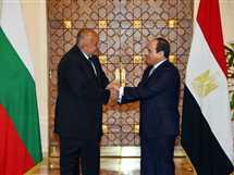 السيسي يلتقي رئيس الوزراء البلغاري