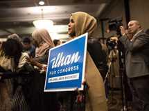 إلهان عمر أول نائبة محجبة بالكونجرس الأمريكي عن الحزب الديمقراطي