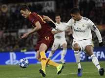مباراة روما و ريال مدريد في دوري أبطال أوروبا
