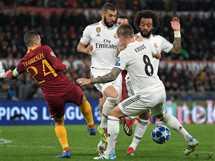 ريال مدريد يفوز على روما بثنائية في الـ«شامبيونز ليج»