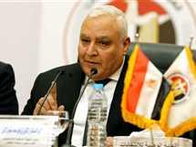 المستشار إبراهيم لاشين رئيس الهيئة الوطنية للانتخابات