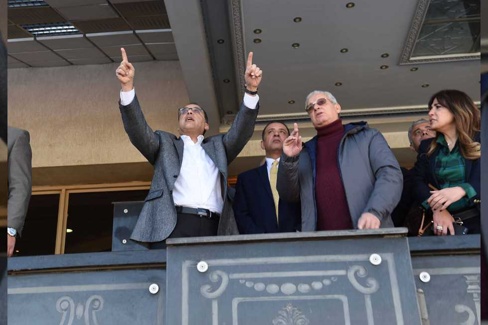 جولة رئيس الوزراء بـ«استاد القاهرة الدولي»
